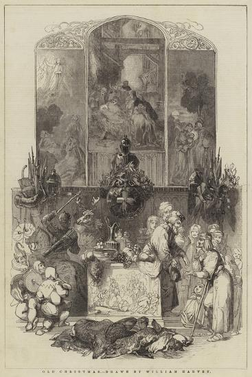 Old Christmas-William Harvey-Giclee Print