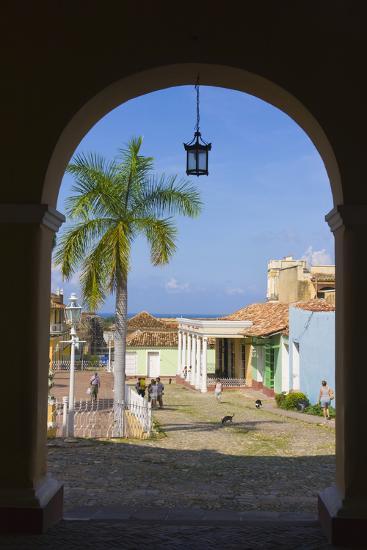 Old City Gate, Trinidad, UNESCO World Heritage Site, Cuba-Keren Su-Photographic Print