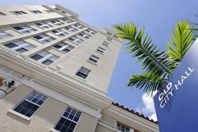 Old City Hall of Miami Beach, Washington Avenue, Miami South Beach, Art Deco District, Florida, Usa-Axel Schmies-Photographic Print