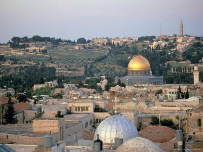 Old City, Jerusalem, Israel-Nik Wheeler-Photographic Print