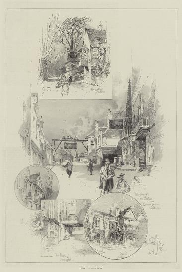 Old Coaching Inns-Herbert Railton-Giclee Print