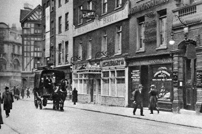 Old Compton Street, Soho, London, 1926-1927--Giclee Print