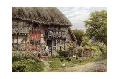 Old Cottage, Bignor, Sussex-Alfred Robert Quinton-Giclee Print