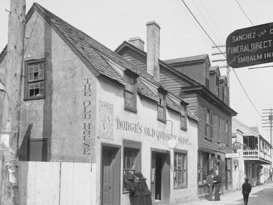 Old Curiosity Shop, St. Augustine, Fla.--Photo