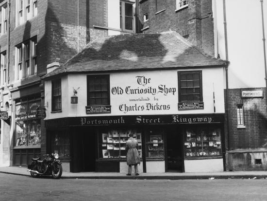 Old Curiosity Shop--Photographic Print