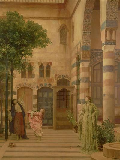 Old Damascus: Jew's Quarter or Gathering Lemons, Circa 1873-1874-Sir Lawrence Alma-Tadema-Giclee Print