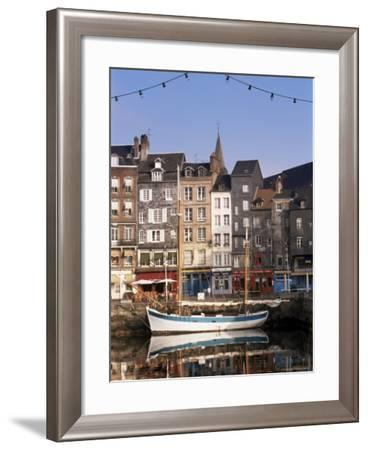 Old Dock, St. Catherine Quay, Honfleur, Normandie (Normandy), France-Guy Thouvenin-Framed Photographic Print