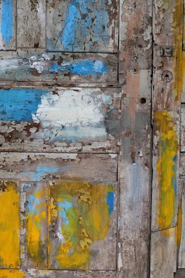 Old Door, Havana, Cuba--Photographic Print