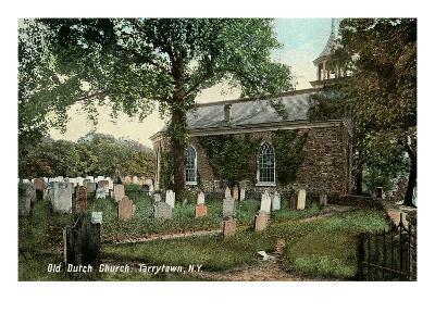 Old Dutch Church, Tarrytown, New York--Art Print
