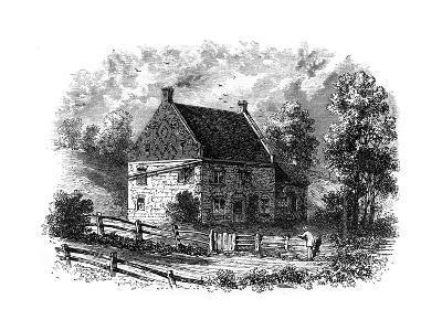 Old Dutch House, Long Island, New York, 18th Century--Giclee Print