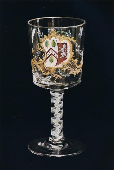 'Old English Glass Goblet', c1775-Unknown-Giclee Print