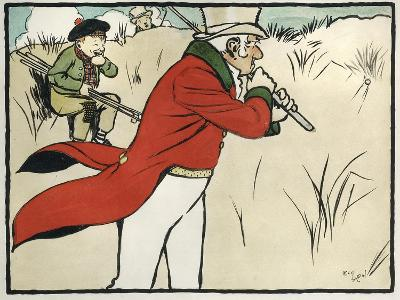 Old English Sports and Games: Golf, 1901-Cecil Aldin-Giclee Print