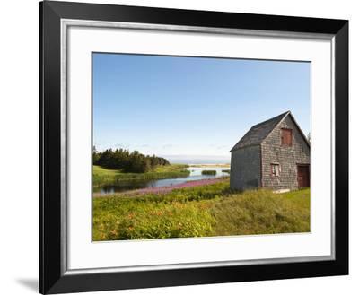 Old Farmhouse Near Lakeville, Prince Edward Island, Canada, North America-Michael DeFreitas-Framed Photographic Print