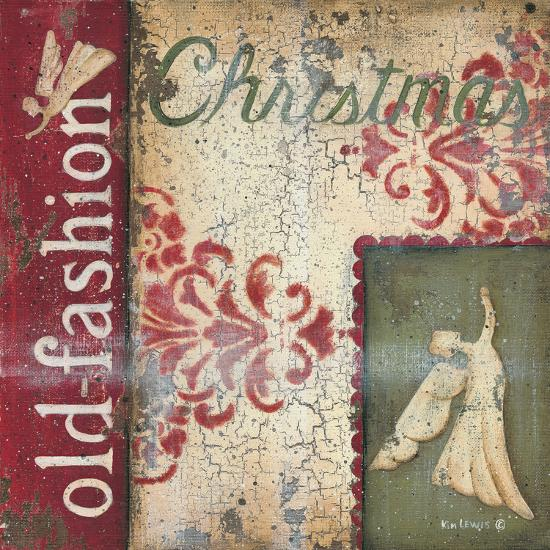 Old Fashioned Christmas-Kim Lewis-Art Print