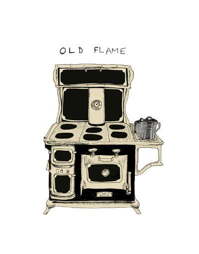 Old Flame-Urban Cricket-Art Print