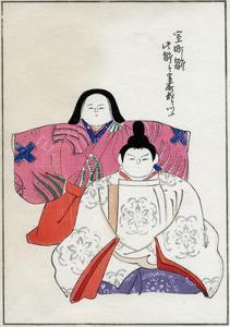 Old Forms of Emperor and Empress Dolls