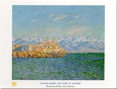 Old Fort At Antibes-Claude Monet-Art Print