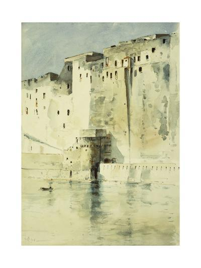Old Fortress Naples-Childe Hassam-Giclee Print