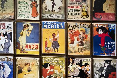 Old French Postcards - Gallery - Montmartre - Paris - France-Philippe Hugonnard-Photographic Print