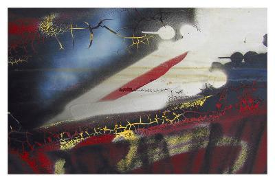 Old Grafitti I-Jean-Fran?ois Dupuis-Art Print