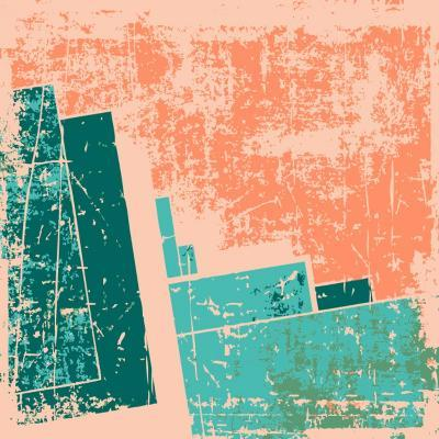 Old Grunge Pattern Vector Background-Nik Merkulov-Art Print