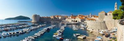 Old Harbour and Town (Stari Grad), UNESCO World Heritage Site, Dubrovnik, Dalmatia, Croatia, Europe-Alan Copson-Photographic Print
