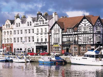 Old Harbour, Douglas, Isle of Man, England, United Kingdom-G Richardson-Photographic Print