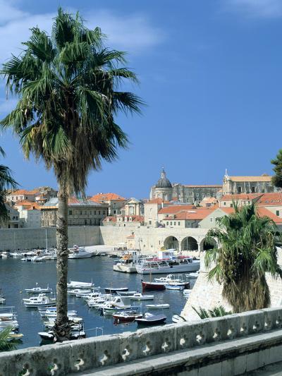 Old Harbour, Dubrovnik, Croatia-Peter Thompson-Photographic Print