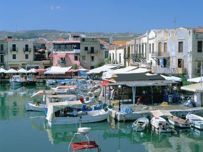 Old Harbour, Rethymnon, Crete, Greece-Peter Thompson-Photographic Print