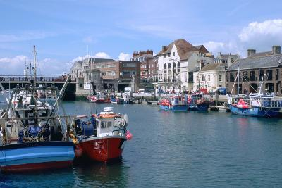 Old Harbour, Weymouth, Dorset-Peter Thompson-Photographic Print