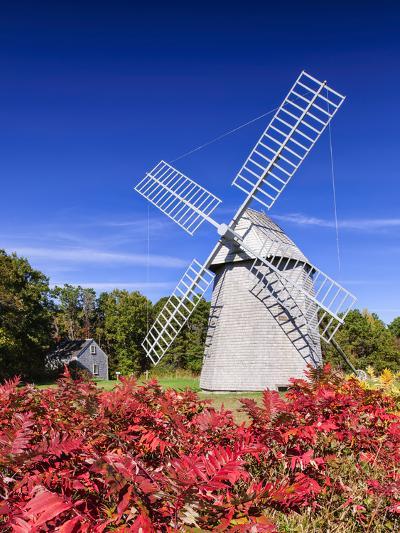 Old Higgins Farm Windmill-Michael Blanchette-Photographic Print