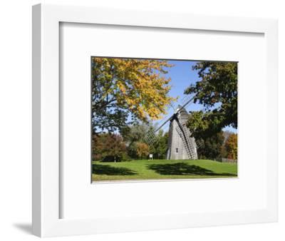 Old Hook Windmill, East Hampton, the Hamptons, Long Island, New York State, USA-Robert Harding-Framed Photographic Print