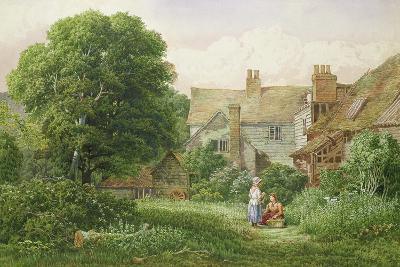 Old House at Hendon-Bernard Walter Evans-Giclee Print