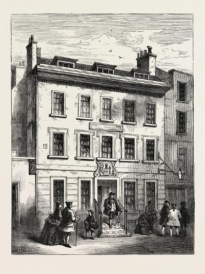 Old House in Bolt Court London--Giclee Print