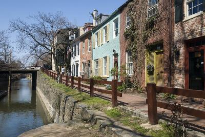 Old Houses Along the C and O Canal-John Woodworth-Photographic Print