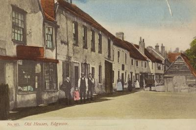 Old Houses, Edgware--Photographic Print