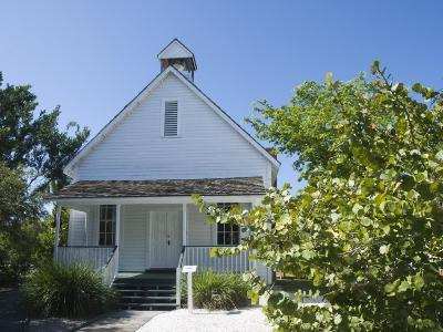 Old Houses in Historic Village Museum, Sanibel Island, Gulf Coast, Florida-Robert Harding-Photographic Print