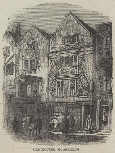 Old Houses, Moorfields--Giclee Print
