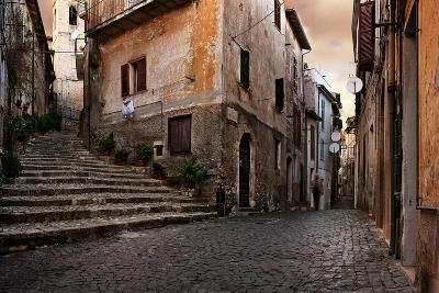 Old Italian Village-conrado-Art Print