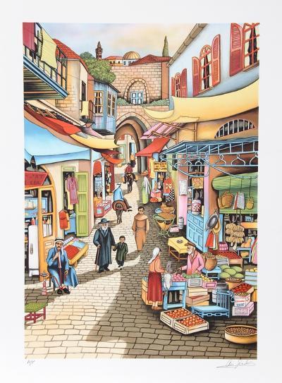 Old Jerusalem Market-Ari Gradus-Limited Edition