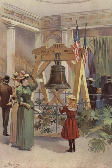 Old Liberty Bell--Giclee Print
