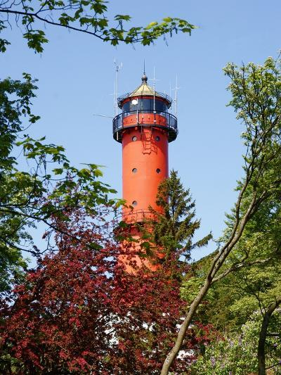 Old Light-House in Rozewie near Gdansk-Maria Brzostowska-Photographic Print