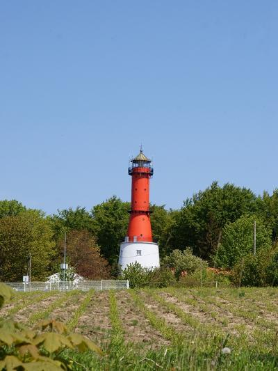 Old Light House in Rozewie on Baltic Sea Side-Maria Brzostowska-Photographic Print