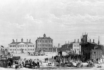 Old Liverpool Infirmary and Alms-Houses, with John Cooke's Circus in the Foreground, C.1826-William Gavin Herdman-Giclee Print