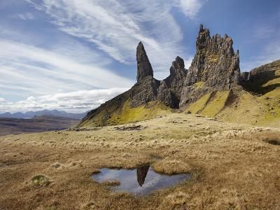 Old Man of Storr, Isle of Skye, Scotland-David Wall-Photographic Print