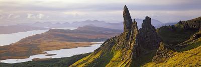 Old Man of Storr Mountains, Isle of Skye, Inner Hebrides, Highland Region, Scotland--Photographic Print