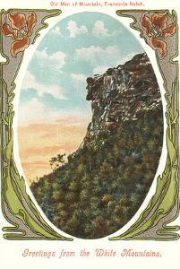 Old Man of the Mountain, New Hampshire