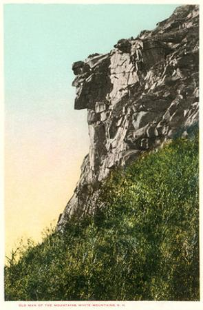Old Man of the Mountains, White Mountains, New Hampshire