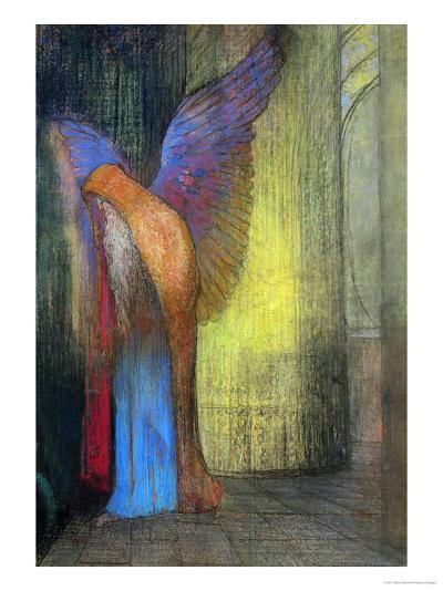 Old Man with Wings, 1895-Odilon Redon-Giclee Print