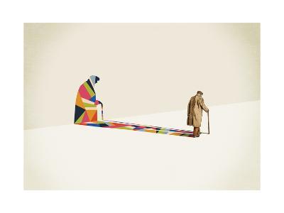 Old Man-Jason Ratliff-Giclee Print